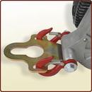 Piastra di aggancio standard a gancio traino sferico.<br>Art. 3045080