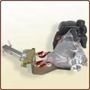 Piastra oscillante ad attacco quadro da mm. 50 per ancoraggio al gancio traino.<br>Art. 3045082