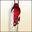 Carrucola di rinvio con dispositivo autobloccante di non ritorno per salvataggi.<br>Art. 3045071